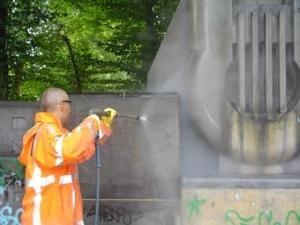 Graffiti-Reinigung